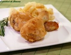 Cosce di pollo al forno croccanti