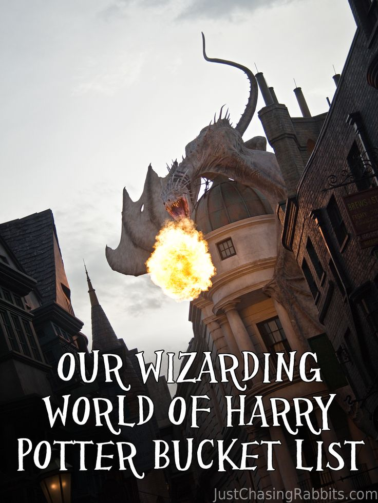 Our Wizarding World of Harry Potter Bucket List