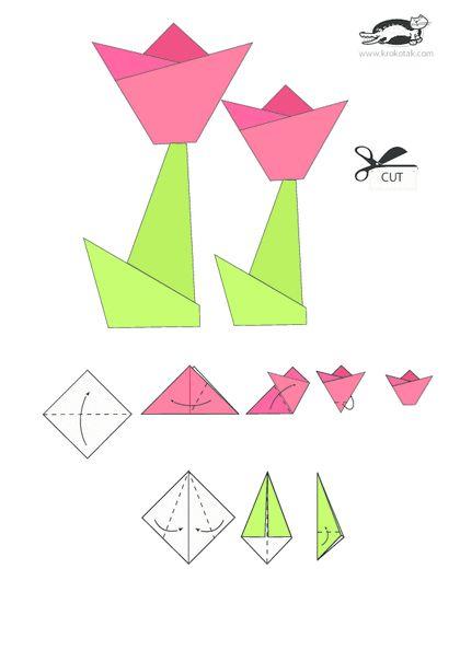 KROKOTAK PRINT! | printables for kids  TULIP