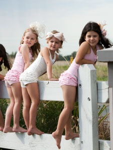 The cutest (and softest) underwear for little girls. # ...