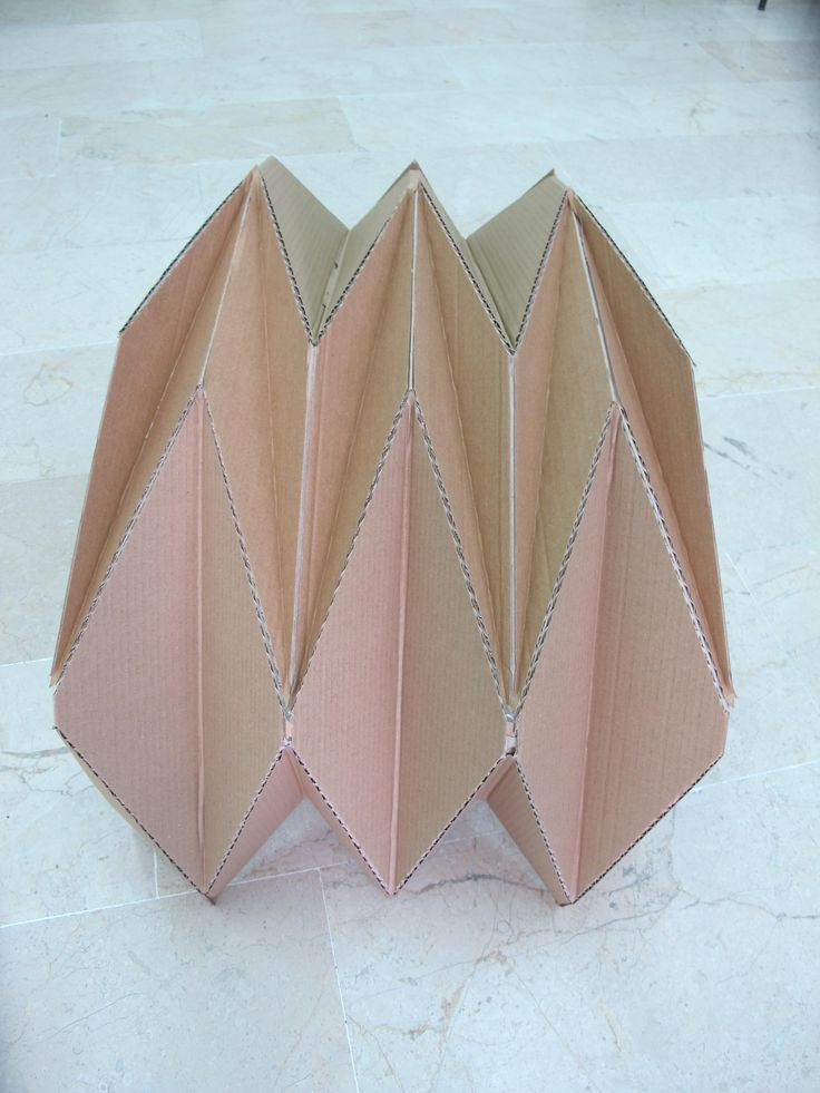 folded plate,  structural design course' student work, ERU department of architecture