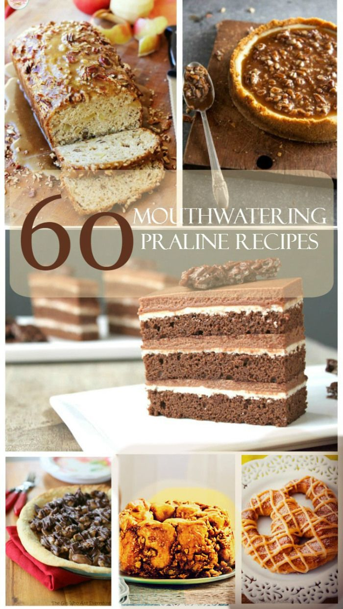 60 Pralines Recipes for National Praline Day (June 24)