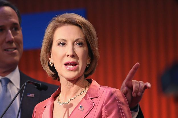 """Fiorina on Clinton in 2008: """"She was a great candidate. She has helped millions of women all over this country. Women of any political party owe a debt of gratitude to Hillary Clinton and I wi..."""