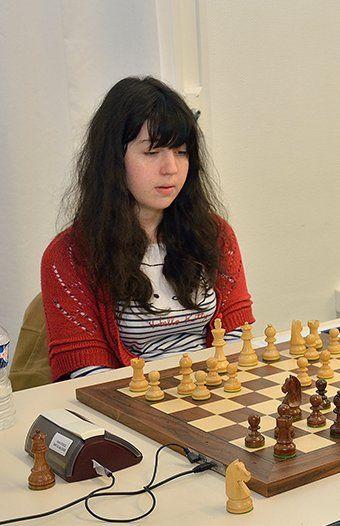 Anysia Thomas (Académie de Metz-Nancy), championne de France universitaire d'échecs 2017