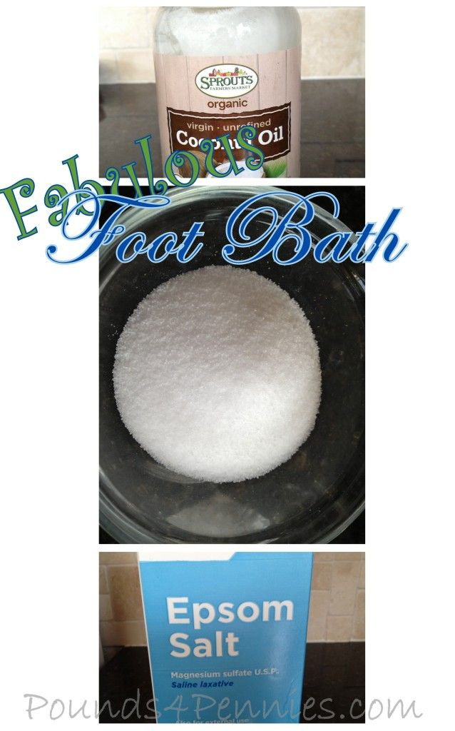 Fabulous Foot Bath for tired dry feet. Super Simple recipe to smooth and soften even the toughest feet. Check this out!