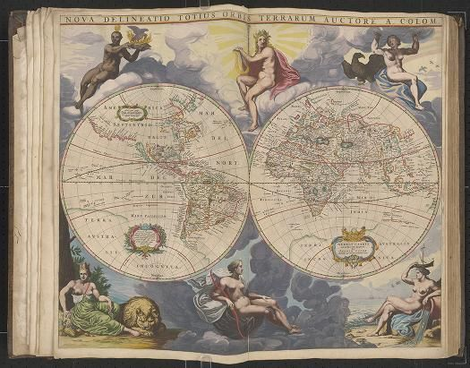 Page 1 Zee-atlas; Colom, Arnold 1656?  Albert and Shirley Small Special Collections Library, University of Virginia. http://search.lib.virginia.edu/catalog/uva-lib:2287415/view#openLayer/uva-lib:2380003/6569.5/8400/2/1/0