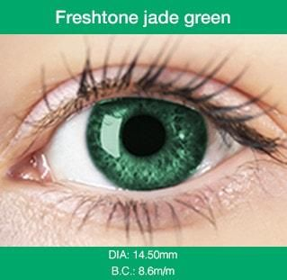 Jade Green Colored Contacts