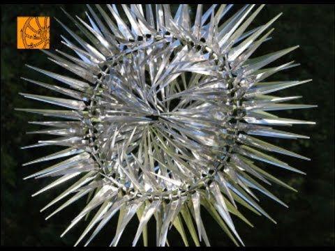 Arte cinético esculturas que se transforman con el viento [Vídeo]