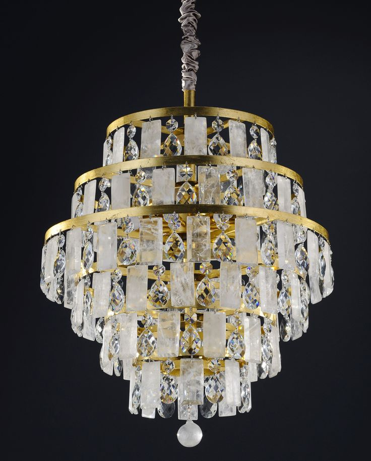 Another beautiful chandelier from our bespoke rock