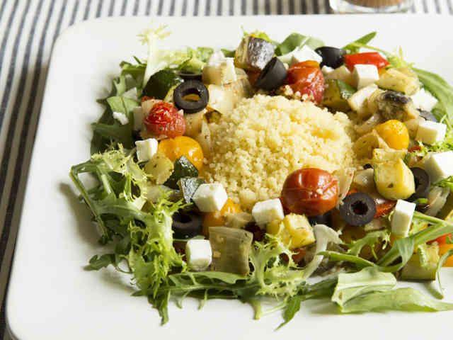 ローストベジタブル・クスクスサラダの画像