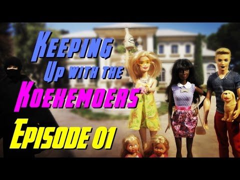 """Keeping Up With The Koekemoers - Episode 1 """"Pilot"""" (Barbie Doll Stop Motion Animation Web Series) #stopmotion #stop-motion #comedy #tvseries #funny #videos #funnyvideos #kuwtk #barbiestopmotion #animation #comedyvideos #youtube #youtubers"""