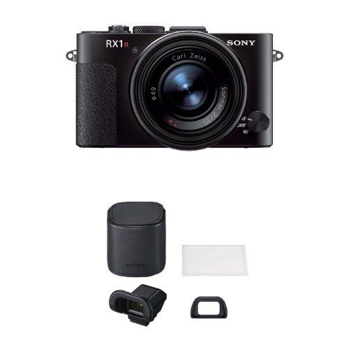 Sony DSCRX1RB 24MP Compact System CyberShot Digital Still Camera with 3Inch LCD Screen Black w Electronic View Finder Kit >>> Visit the image link for more details.