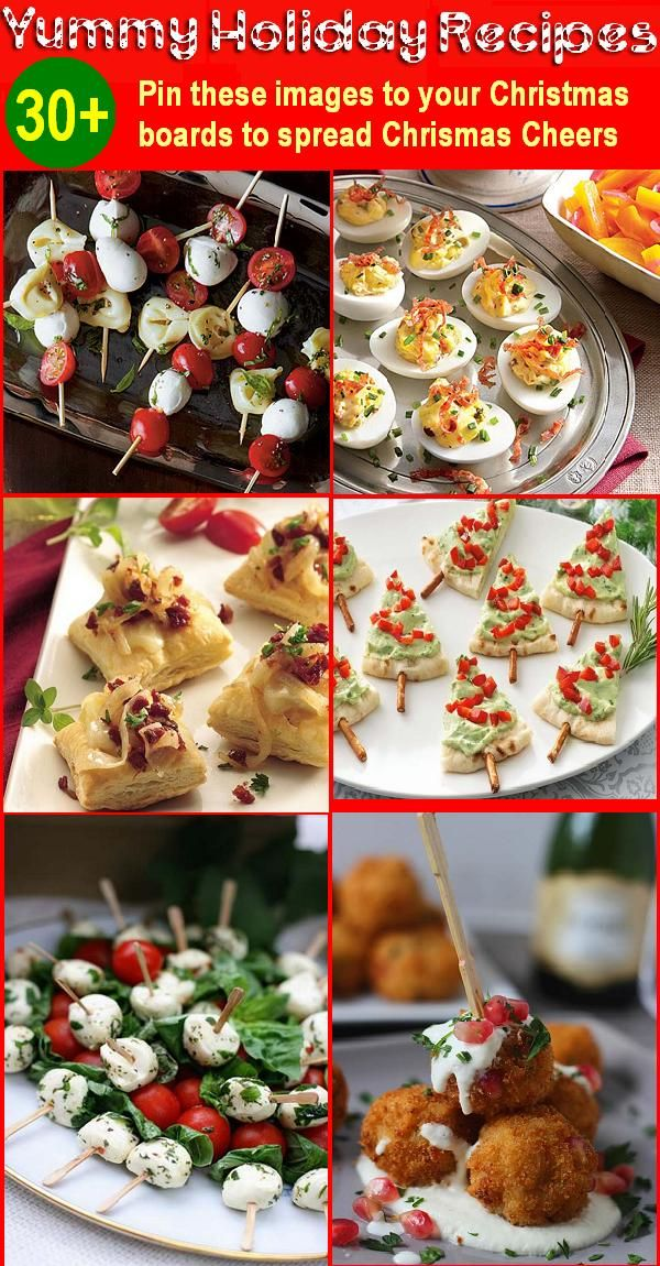 30 Holiday Appetizers Recipes for Christmas and New Year DinnerThe most awaited holiday is fast approaching. Everyone seems to be running busy, picking up gifts, sending Christmas cards in the mail or just in a hurry to get home to get cozy in the chilly night. As Christmas approaches,…