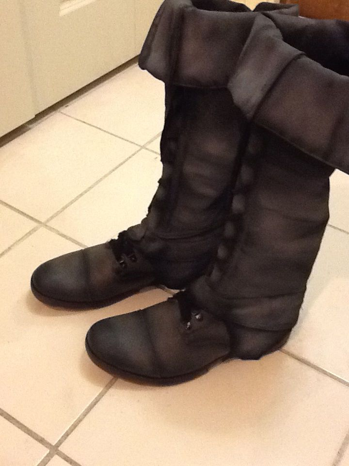 DIY Boot Spats Instructable