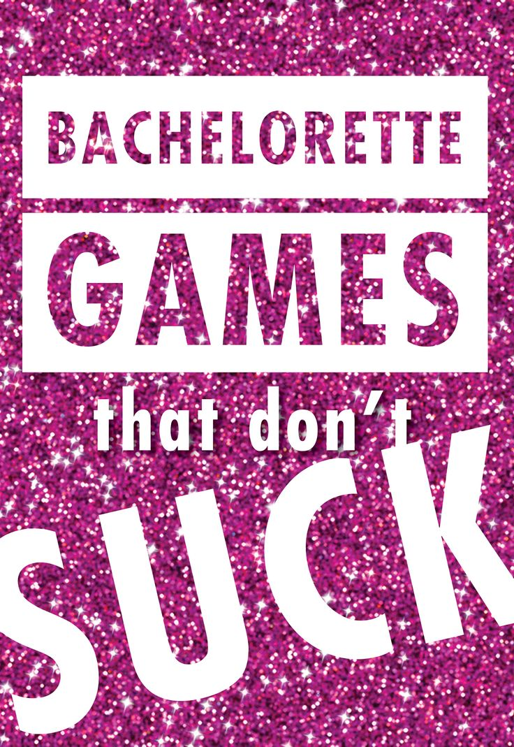 We came up with 12 bachelorette party activities (that don't involve man-handling strangers in bars) that are neither extremely embarrassing nor bridal-shower lame. Print out the rules, let the liquor flow and wait for the good times to roll…