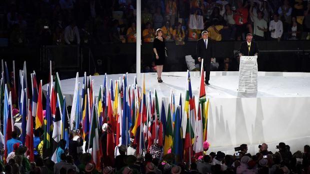 IOC-Präsident Thomas Bach (l.) lobte die Bevölkerung von Rio de Janeiro.