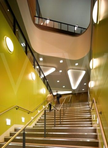 Inside the Life Sciences Building, University of Southampton