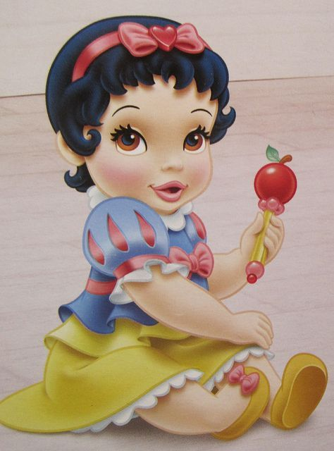 Baby Snow White Template for decor