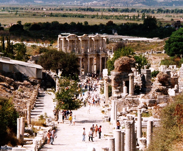 Ephesus - i went in march, and it was cold for them about 53 and raining