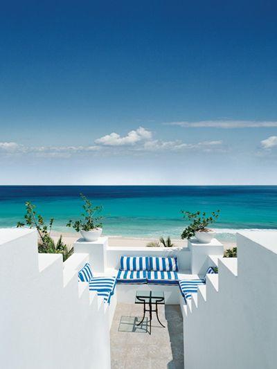 Beach house in Anguilla.
