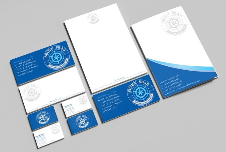 Seven Seas Branding #logo #design #branding #businesscards