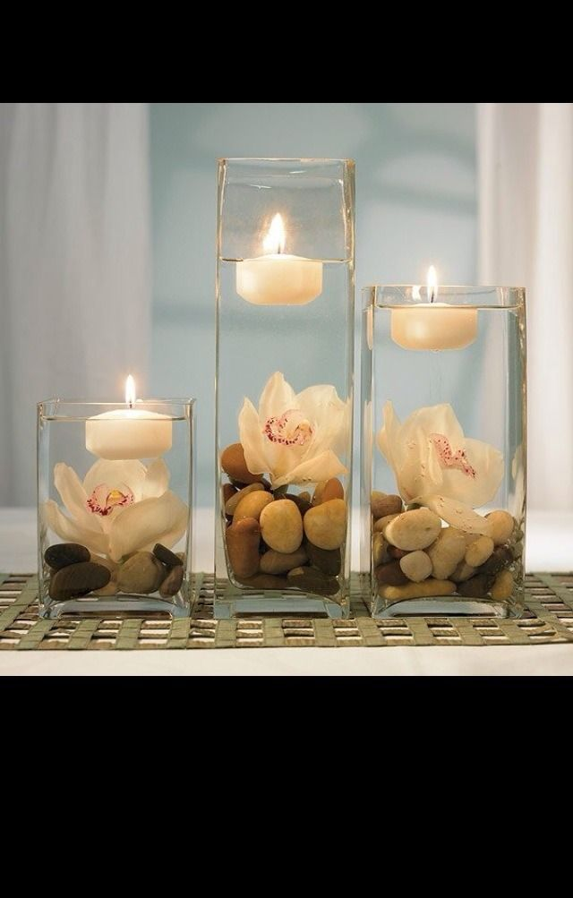 Best Candles Images On Pinterest Candles Scented Candles - Beautiful flowers candles centerpieces romanticize table decoratio