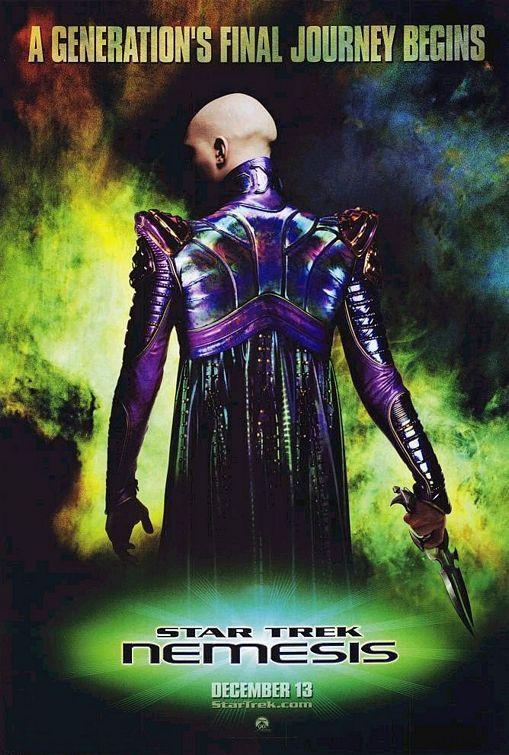 Star Trek: Nemesis poster, 2002.