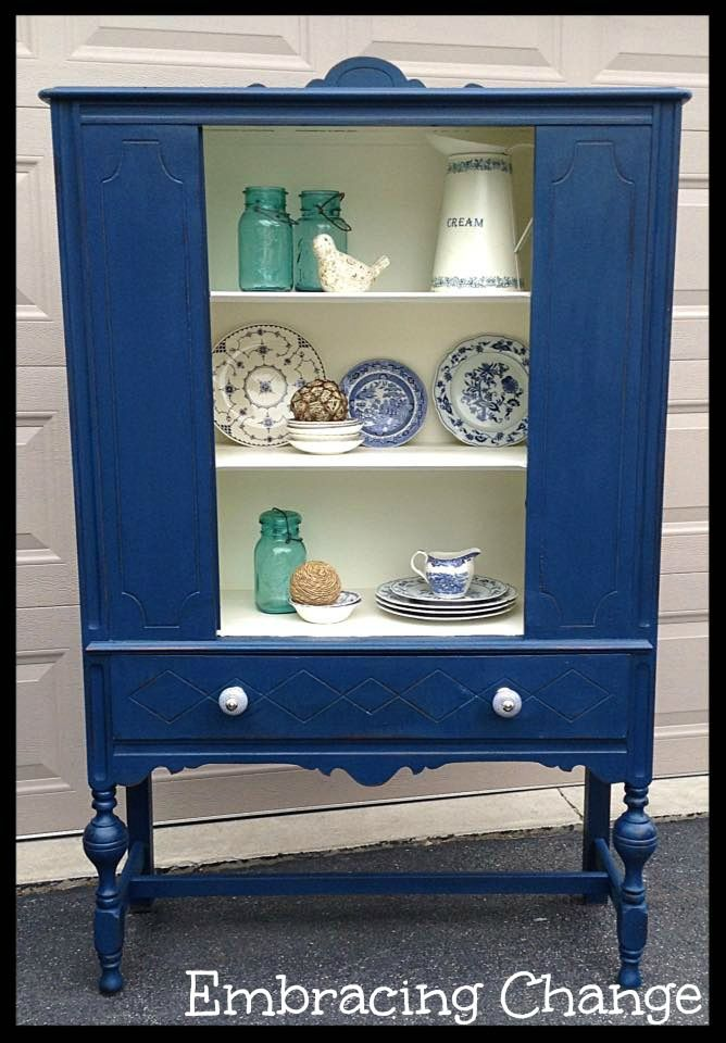 686 best China Cabinets and Hutches - PAINTED images on Pinterest | China  cabinets, Clay paint and Painted furniture - 686 Best China Cabinets And Hutches - PAINTED Images On Pinterest