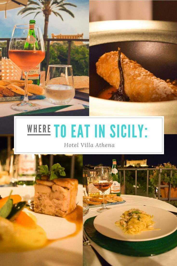At Hotel Villa Athena In His Hometown Of Agrigento In Sicily Italy Chef Salvatore Gambuzza Has Earned The Adula In 2020 Foodie Travel Sicily Travel Five Course Meal