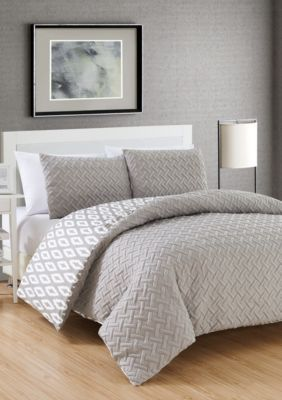 Chic Home  Ora Comforter Set - Grey - King