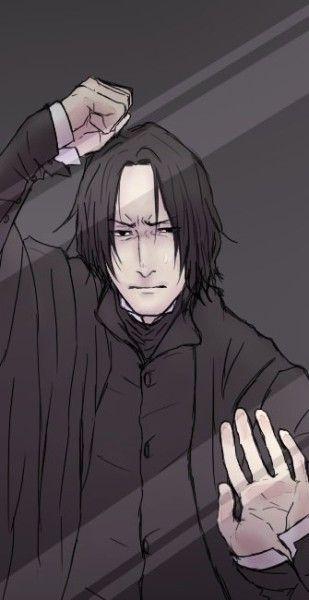 Severus Snape phone wallpaper