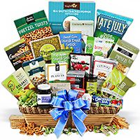 Healthy Gift Basket Deluxe (4023)
