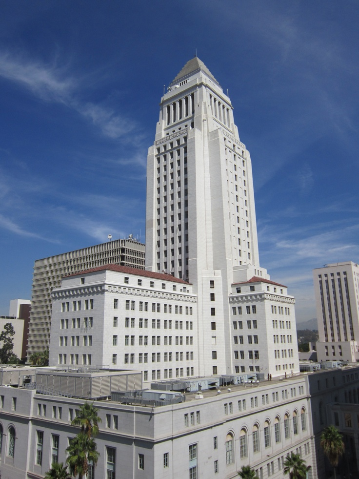 Los Angeles City Hall where my father worked so long ago and where I got to complete the circle in 1999.