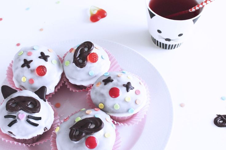 Fastelavns Cupcakes – Opskrift | Den Kreative Sky