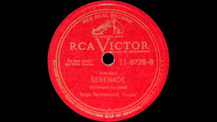 Rachmaninoff plays Schubert Ständchen (1942)