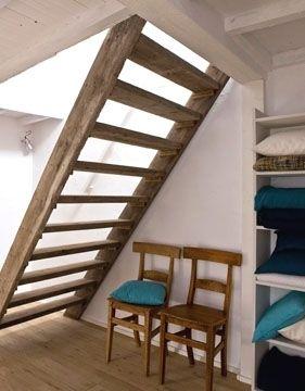 Échelle ou escalier ? - 8 escaliers gain de place - CôtéMaison.fr