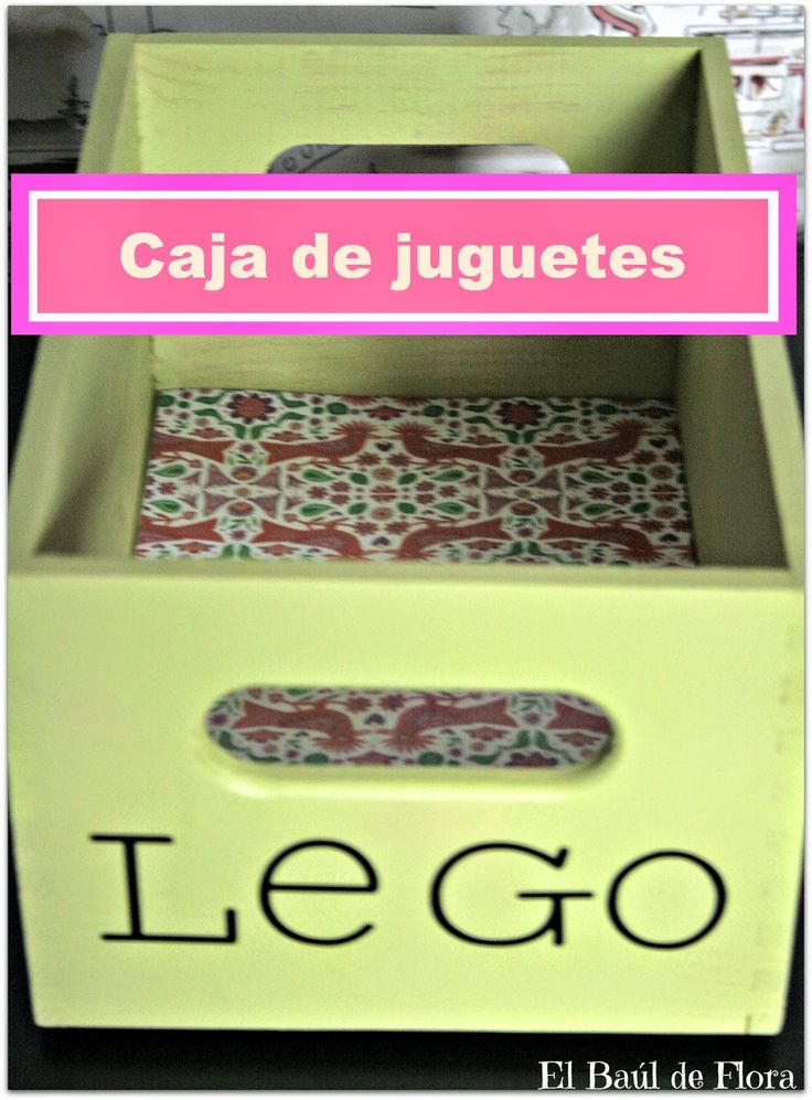 M s de 25 ideas incre bles sobre cajas para guardar - Cajas para organizar juguetes ...