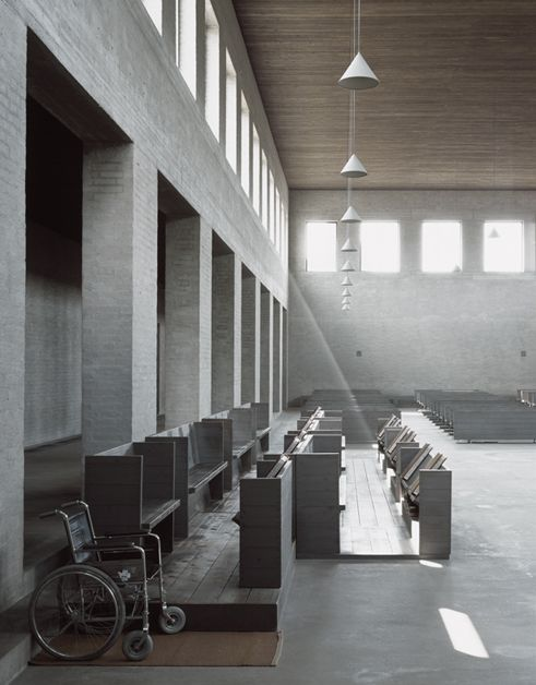 Dom Hans van der Laan - st Benedictus Vaals, photography: David Grandorge