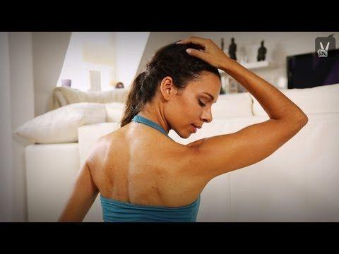 Yoga gegen Nackenverspannung - super Sequenz von #HappyFitYoga, hilft mir immer sehr gut, echt empfehlenswert!