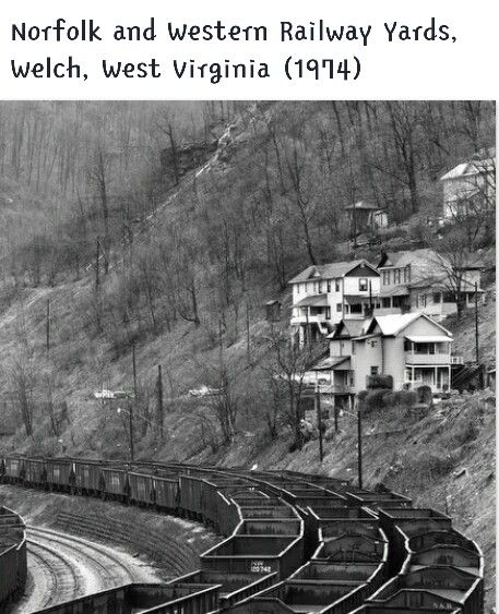 Coal mining towns in west virginia today