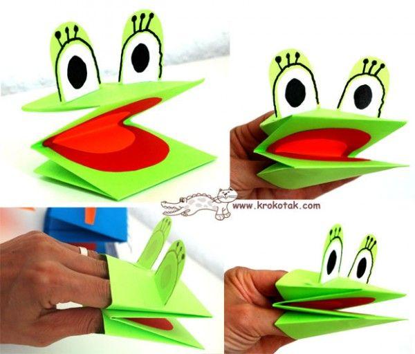 Manualidades Infantiles Marionetas Rana Pictures