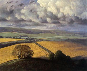 James Lynch Brimsdown Hill With Field Of Rape