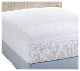 simmons back care fivezone california king mattress pad