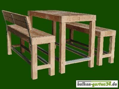 Marvelous Sitzgarnitur Happy Hour Im Lieferumfang enthalten Tisch L x B x H cm Bank mit Lehne L x B x H cm H he