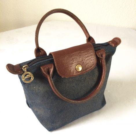 Sac à main mini Longchamp Denim sur Videdressing.com 35€