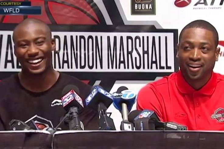 Dwyane Wade & Brandon Marshall