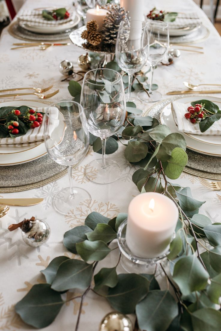 17 Best Images About Holiday Tablescapes On Pinterest