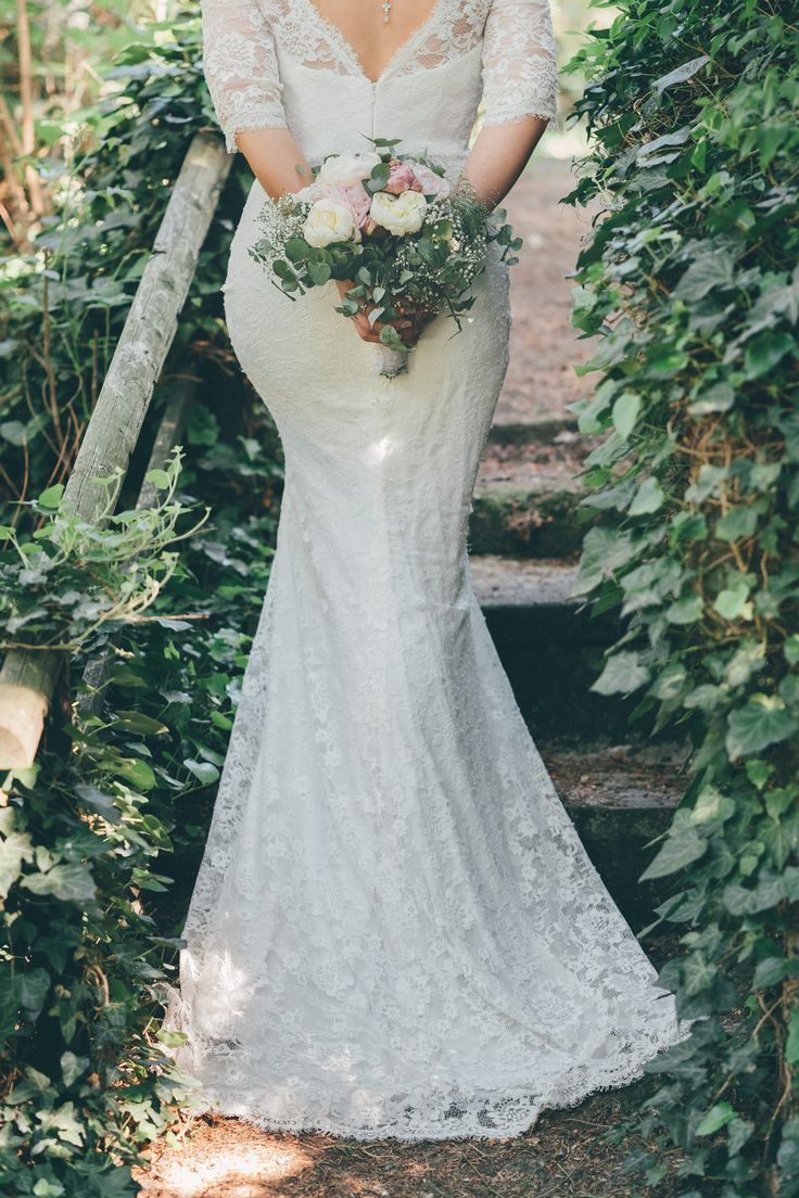 Vintage summer wedding in our garden ***Real Wedding