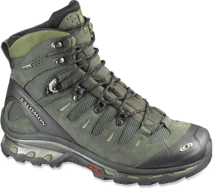 These hiking boots get great reviews. Trail-running shoe technology meets backpacking.