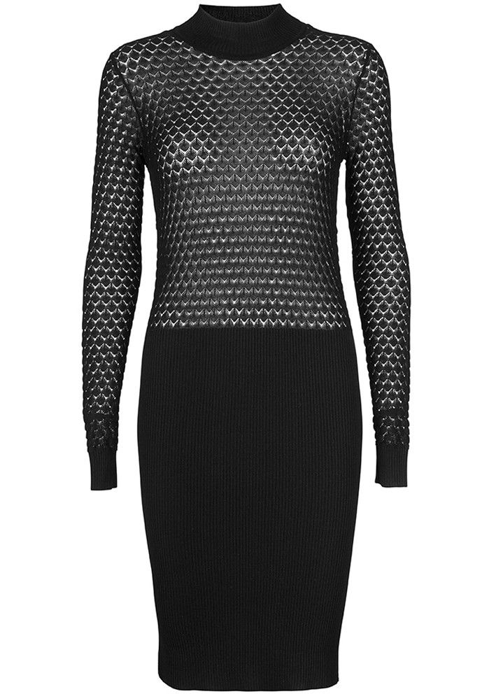 Storm & Marie Kjole sort 10044 Elena Dress - black – Acorns